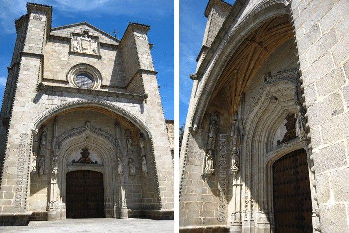 Monasterio Santo Tomás Ávila lugares con historia que ver en Ávila