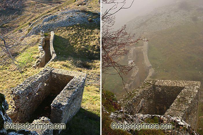 Abánades conserva los restos de las trincheras y fortificaciones de los dos bandos de la Batalla Olvidada de la Guerra Civil española.
