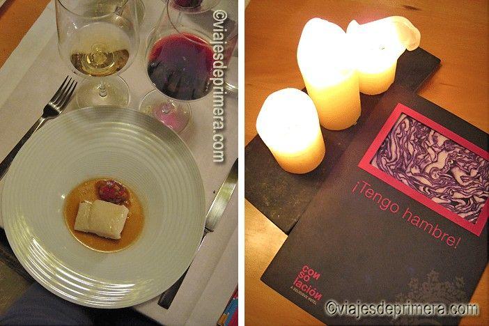Los productos locales forman parte de la carta del restaurante del hotel Consolación, que se desarrolla en un ambiente cálido y muy agradable.