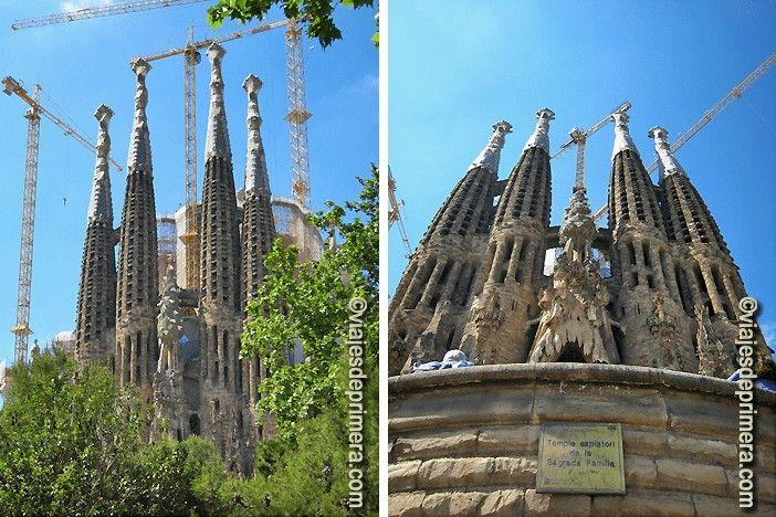 Sagrada Familia de Barcelona el monumento más visitado de España