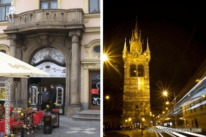 Praga tiene 100 torres, aunque puede que si viajas a la República Checa cuatro días no tengas tiempo de verlas todas