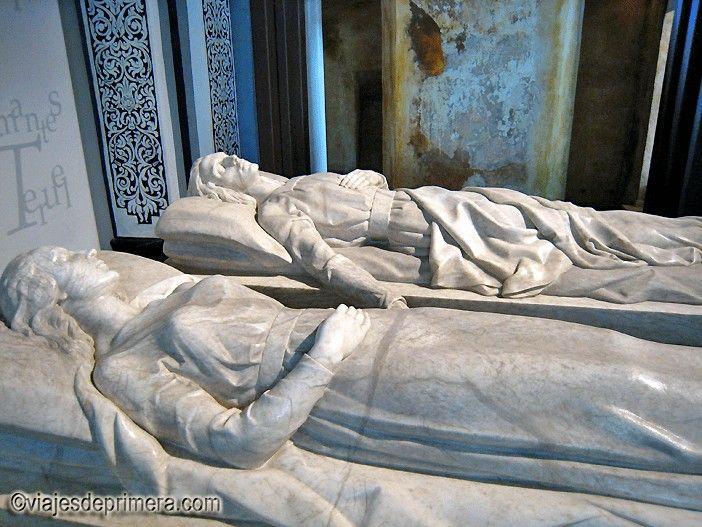 Los cuerpos de los Amantes de Teruel se conservan en el Mausoleo de la Fundación Amantes de Teruel