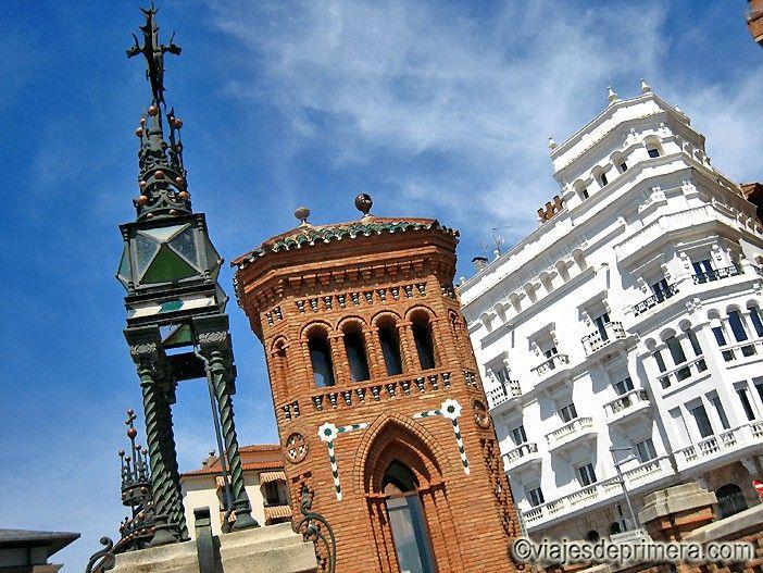 Torre superior de la Escalinata Neomudéjar de Teruel