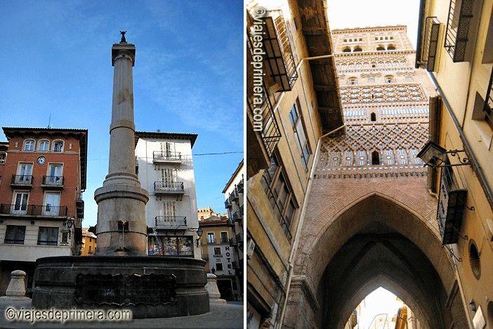 Al visitar Teruel tienes que ver la Plaza del Torico y la Torre de San Salvador.