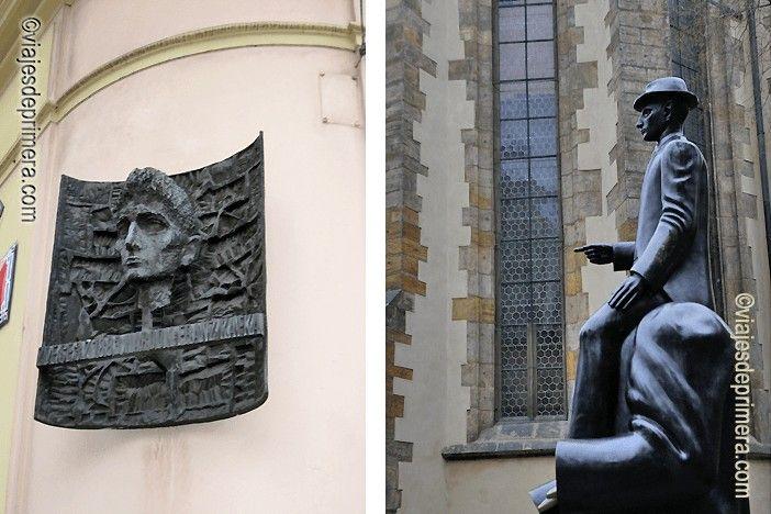 Las obras de Kafka, especialmente el relato El Castillo, son de lectura obligada durante una visita a Praga. Hay muchos monumentos en homenaje al autor de La metamorfosis por toda la ciudad.