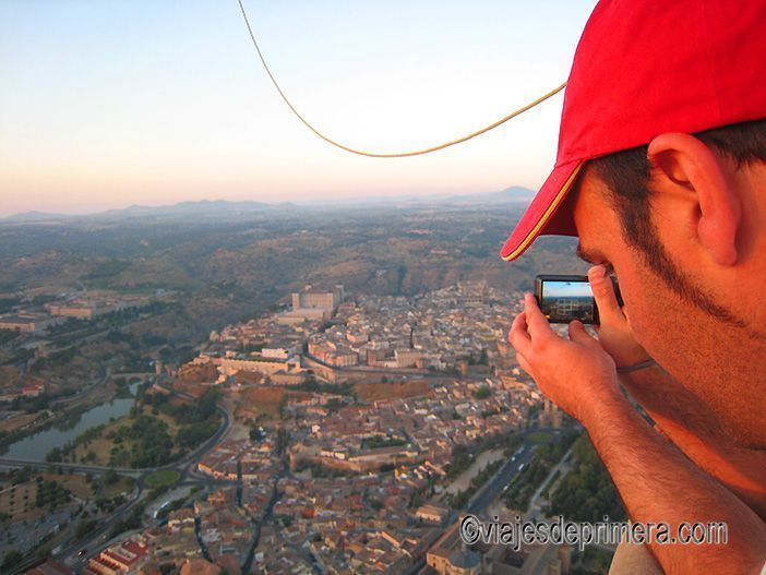 Volar en globo en Toledo es una experiencia que merece ser vivida al menos una vez en la vida.
