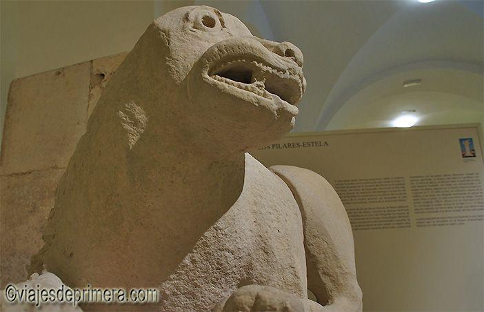 Muchos de los leones íberos del Museo Arqueológico de Baena coronaban los pilares-estela funerarios