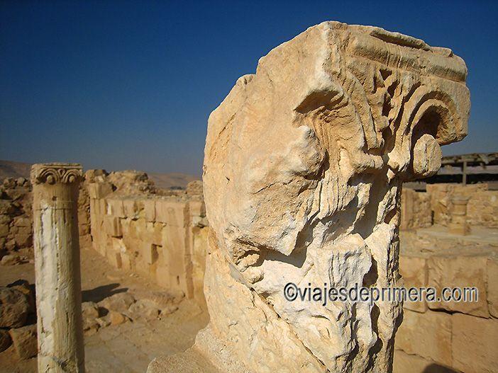 Mamshit es una de las tres ciudades nabateas Patrimonio de la Humanidad que puedes conocer en el Desierto del Neguev de Israel