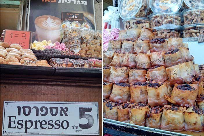 En el mercado Majane Yehuda de Jerusalén se pueden degustar varios dulces típicos de Israel