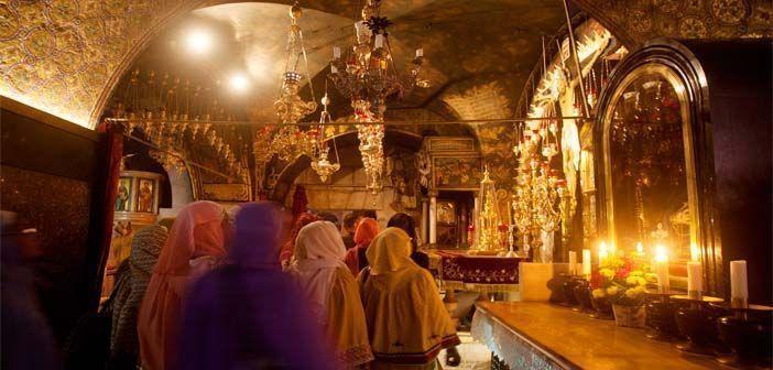 La custodia del Santo Sepulcro de Jerusalén se reparte entre varias iglesias cristianas.