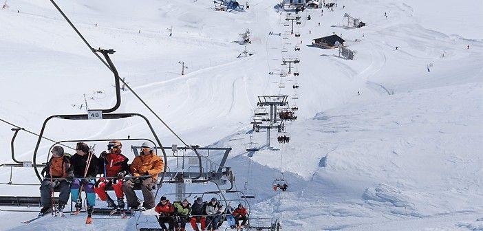 La estación de esquí de Candanchú es la primera que dio cursillos de esquí en España