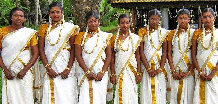El malayalam es el idioma de Kerala, donde también es tradicional el festival del Onam