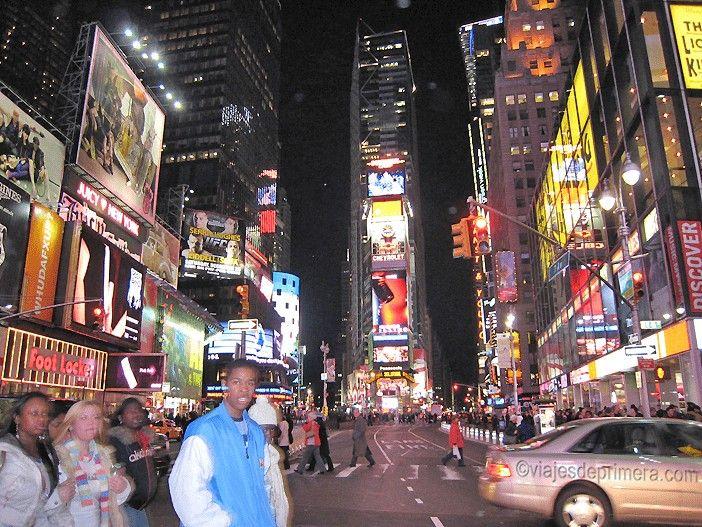 Times Square es uno de los lugares más visitados de Nueva York