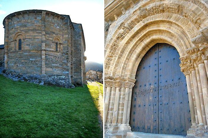 Puerta del Perdón de la iglesia de Santiago de Villafranca del Bierzo