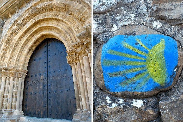 Villafranca del Bierzo es conocida como 'la Pequeña Compostela' de León porque tiene la única Puerta del Perdón que existe en el Camino de Santiago además de la de la capital de Galicia