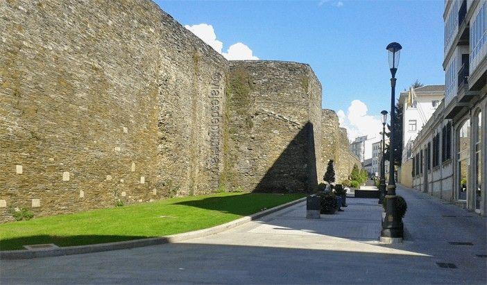 La Muralla de Lugo es Patrimonio de la Humanidad desde el año 2000