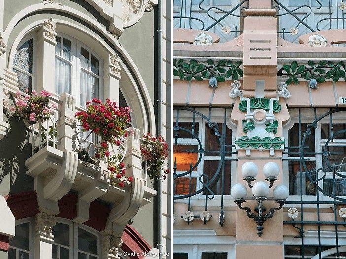 La Ruta Modernista de Ferrol hace del Barrio de la Magdalena uno de los mejores lugares por los que pasear en la ciudad gallega