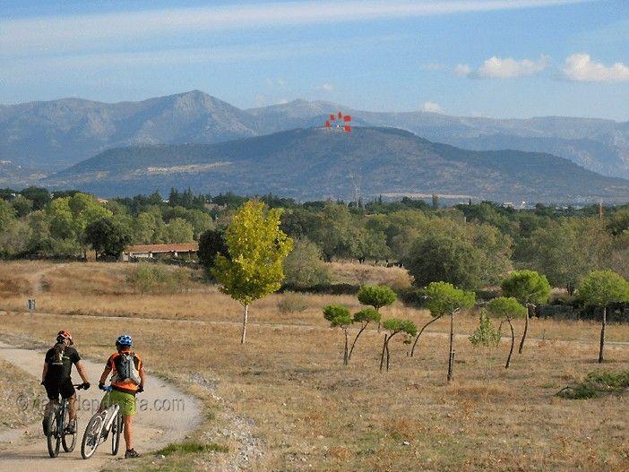 El Cerro del Telégrafo formaba parte de la Línea de Castilla del telégrafo óptico.