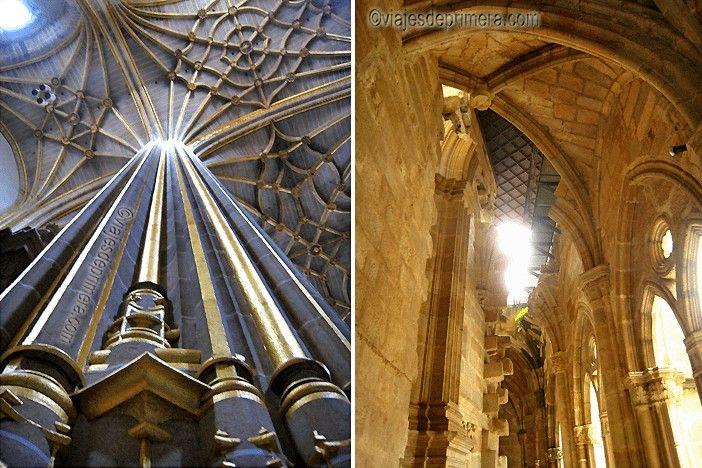 La Catedral de Plasencia está formada por los cuerpos de dos construcciones distintas. La nueva se quedó sin terminar por falta de presupuesto.
