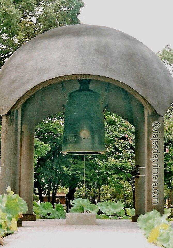 La bomba atómica de Hiroshima es recordada cada 6 de agosto con el tañido de la Campana de la Paz