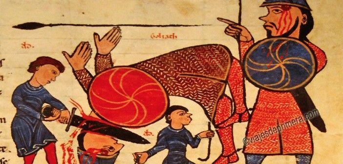 LEON-COLEGIATA-SAN-ISIDORO-BIBLIOTECA-ESPANA-CASTILLA-LEON-EDAD-MEDIA