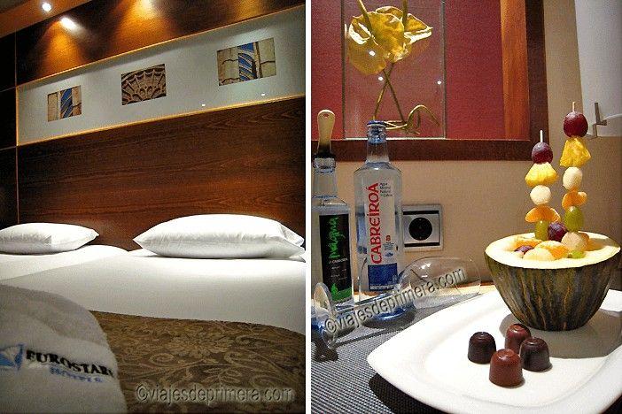 Si buscas dónde dormir en León, el hotel Eurostars León cuatro estrellas ofrece una excelente relación calidad-precio