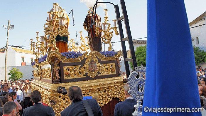 El Cristo de la Columna es uno de los más queridos en Carmona y sale en procesión el Jueves Santo