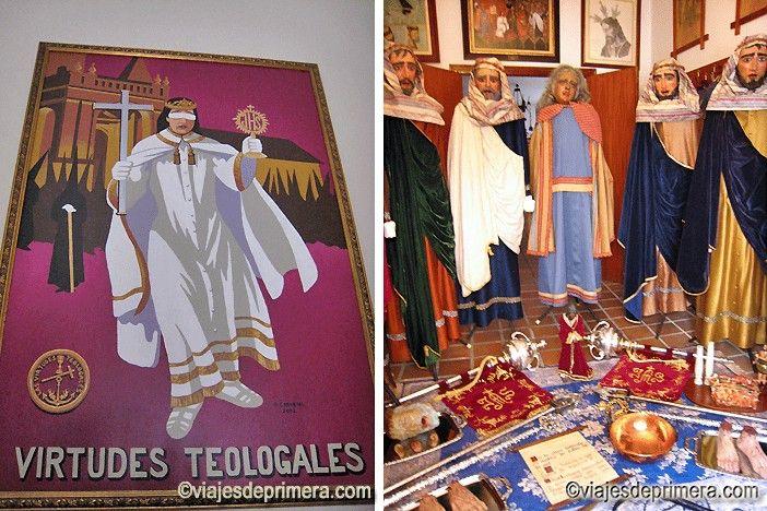 Las Corporaciones Bíblicas representan escenas del Viejo y del Nuevo Testamento en la Semana Santa de Puente Genil