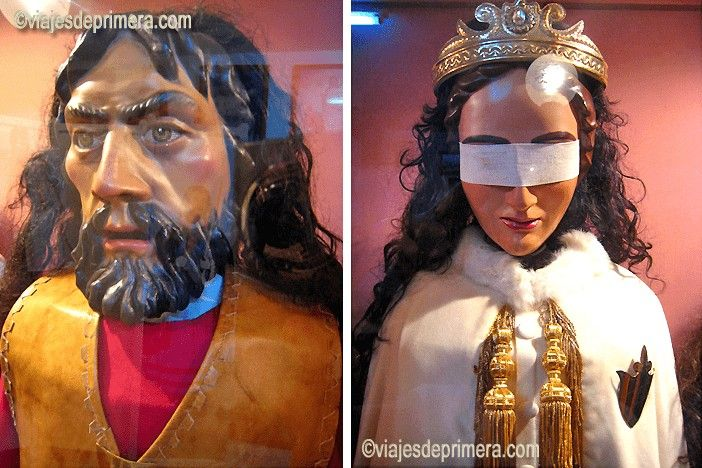 Los rostrillos son una de las artesanías más típicas de la Semana Santa de Puente Genil