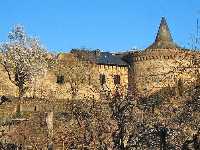 El Castillo de Villafranca del Bierzo no se puede visitar porque es de propiedad privada.