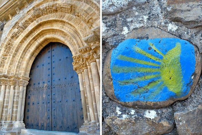 """La iglesia de Santiago es la """"Pequeña Compostela"""" de Villafranca del Bierzo, importante parada en el Camino de Santiago"""
