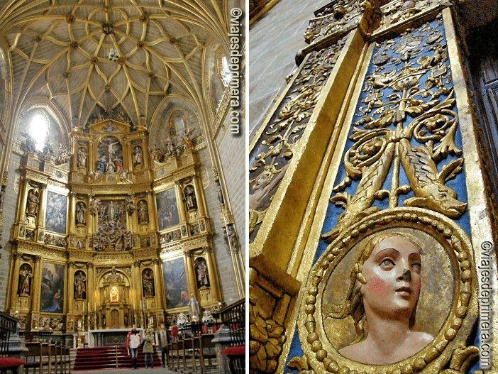 El coro y el retablo mayor de la Catedral de Plasencia -ubicados en la Catedral Nueva- es uno de los objetos de mayor valor de las dos catedrales de Plasencia