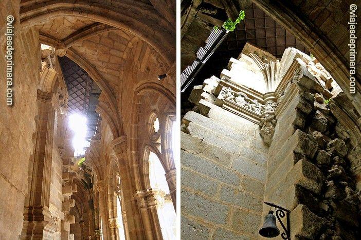 Las dos catedrales de Plasencia se quedaron a escasos centímetros de distancia pero a varios siglos de diferencia artística