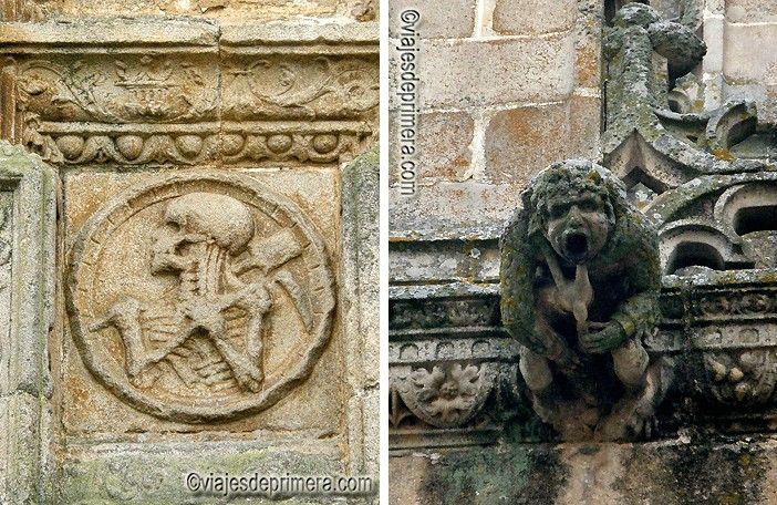 Detalles de la Catedral de Plasencia.