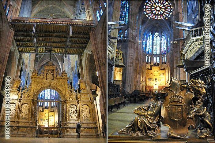 La orientación de la Catedral de León y los colores de sus vidrieras, en un lado más azules, en otro más cálidas, son otras maneras de relatar el mensaje celestial que utilizaron sus constructores.