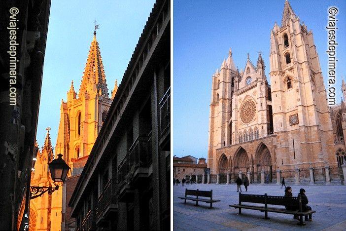 La Catedral de León es uno de los lugares que hay que ver en una escapada de dos días a la ciudad de León