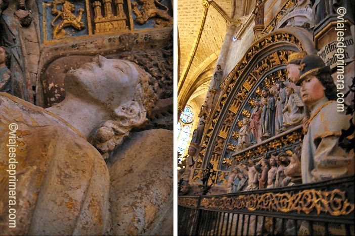 La Catedral de León es uno de los referentes del Gótico español, aunque la primera de ese estilo fue la Catedral de Ávila