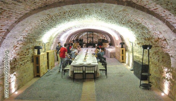 Balneario de Valbuena en Valladolid en el edificio histórico de la orden del Císter