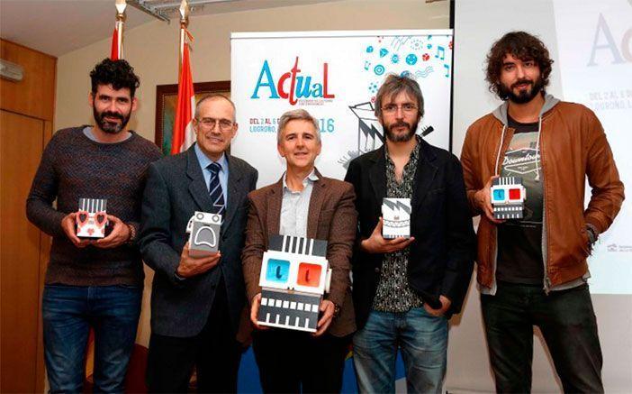 Presentación del Festival Actual 2016 en el Centro Riojano de Madrid