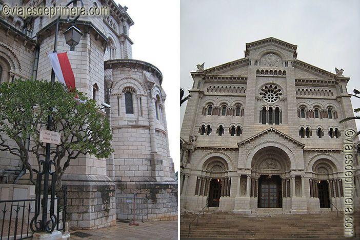 Detalles de la Catedral de San Nicolás, en el Principado de Mónaco