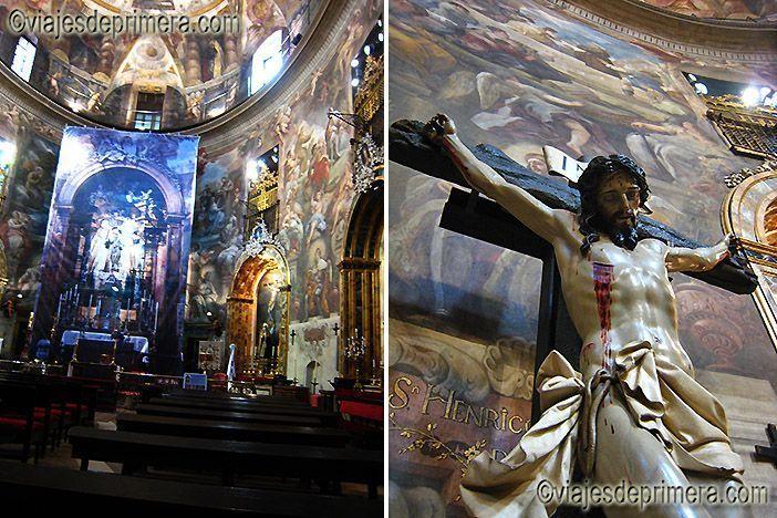 Altar y Cristo de la iglesia de San Antonio de los Alemanes, Madrid