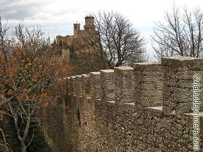 Fortaleza de San Marino, Patrimonio de la Humanidad desde 2008