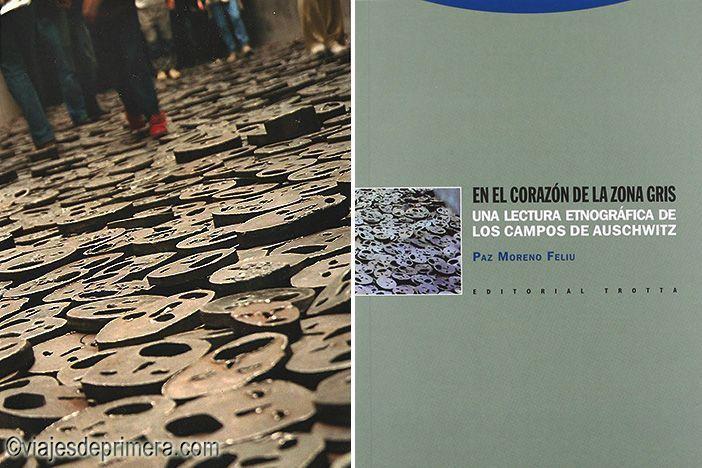 Exposición Void en el Museo Judío de Berlín y portada de En el corazón de la zona gris, de Paz Moreno Feliu