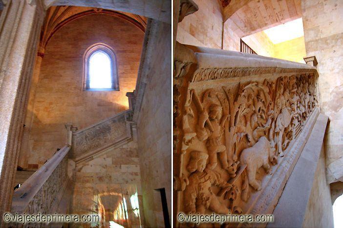 Dos tramos de la Escalera del Conocimiento de la USAL, Universidad de Salamanca