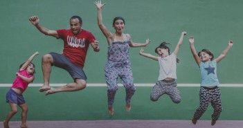 La familia del proyecto El vuelo de Apis que pasará un año en Sudamérica recorriendo escuelas y colegios