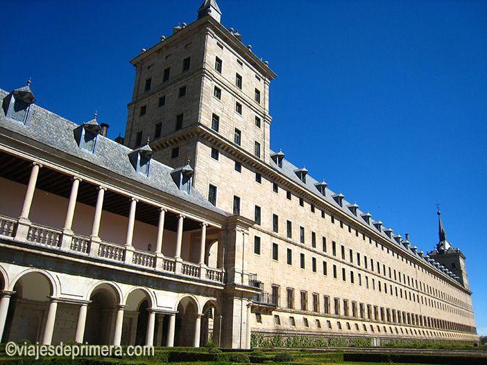 Monasterio del Monasterio de El Escorial, en El Escorial, Madrid, Patrimonio de la Humanidad.
