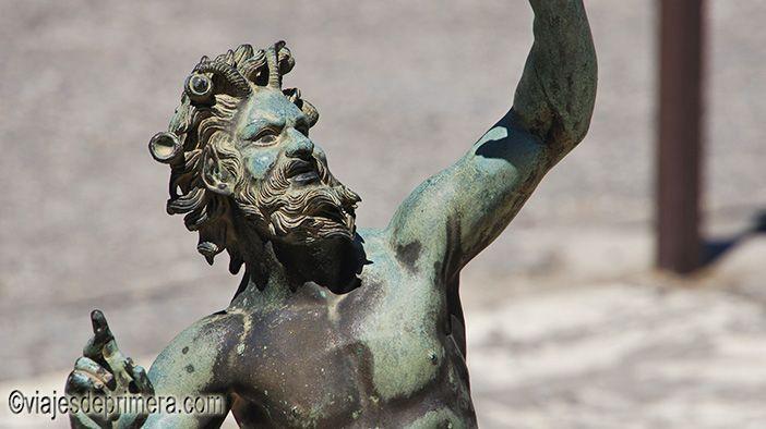 Fauno de la ciudad de Pompeya, gracias a la cual Carlos III es conocido como el Rey Arqueólogo
