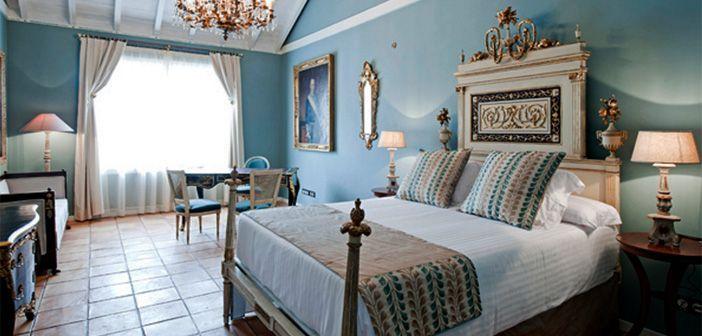 Habitación estándar en el hotel Hacienda de Abajo en las Islas Canarias