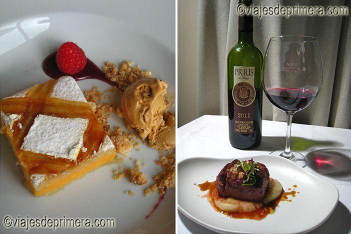 El restaurante del Parador de La Granja de San Ildefonso es uno de los mejores restaurantes de Segovia