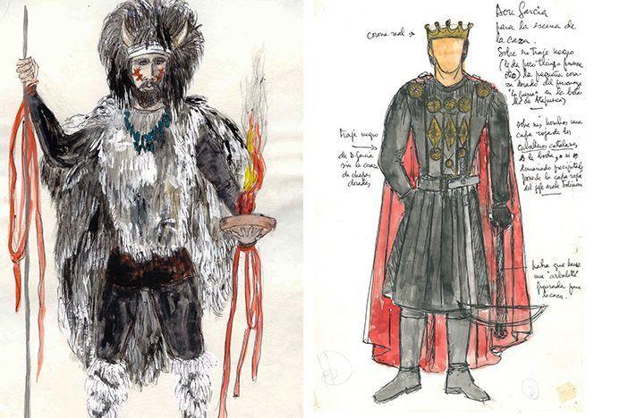 Bocetos de los personajes de las Crónicas Najerenses, La Rioja